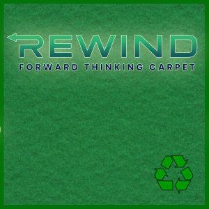 REWIND 100% kierrätettävä matto